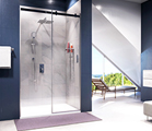 Coming soon! Shower enclosures. Series Dinkel 58R, Alme 15R.