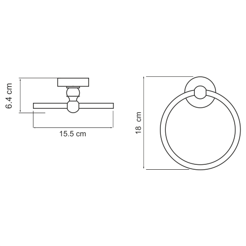 К-2260 Towel ring