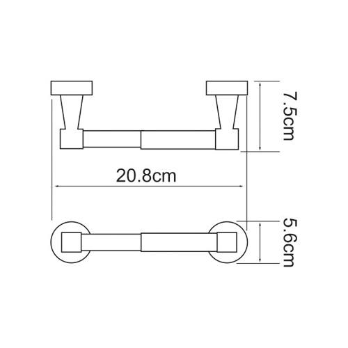 К-4022 Toilet paper holder