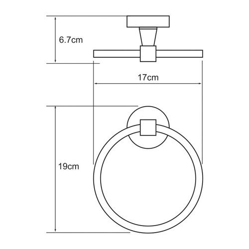 К-4060 Towel ring