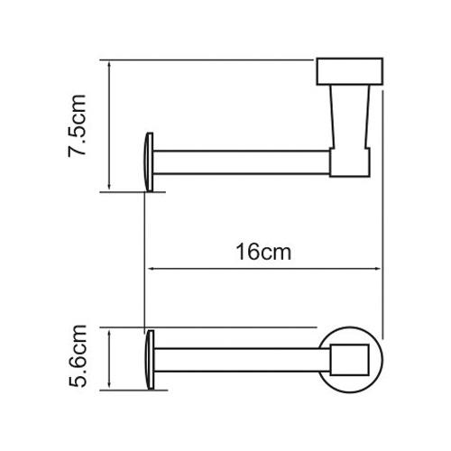 К-4096 Spare paper holder