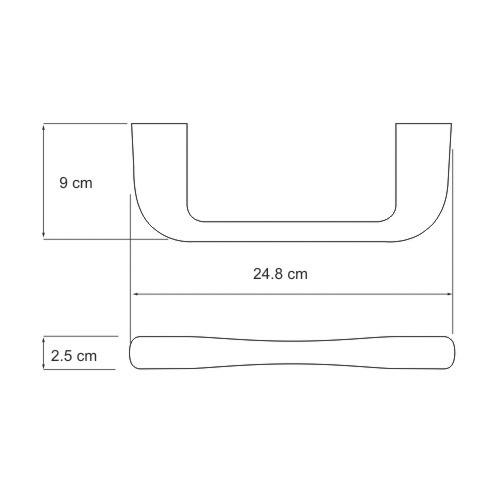 К-6832 Towel rail
