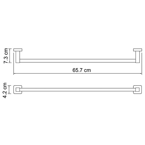 К-6530 Towel rail