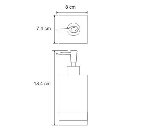 K-4399 Free standing soap dispenser, 290 ml