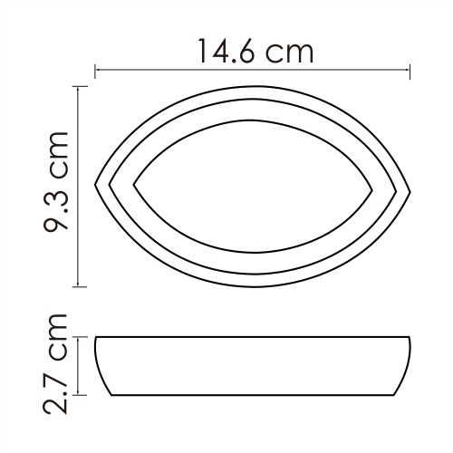 K-33329 Free standing soap dish