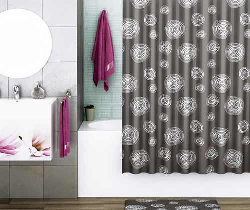 Eidar SC-33301 Shower curtain wasserkraft Shower curtain