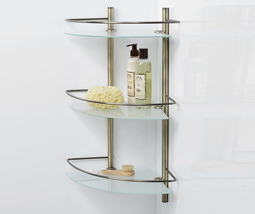 K-3533 Corner glass shelf wasserkraft Series Exter К-5200